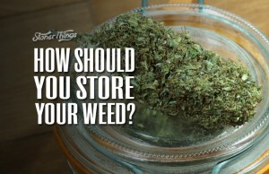 Cannabis Storage